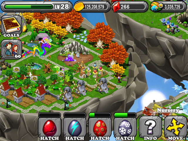 DragonVale RUBY Dragon