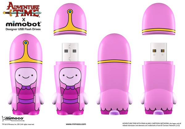 Princess Bubblegum adventure time mimobot flash drive