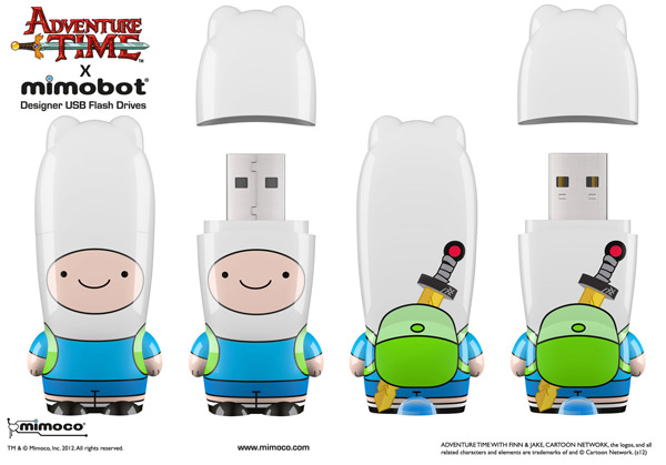finn adventure time mimobot flash drive
