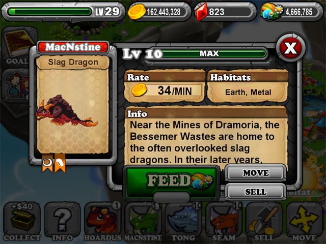 DragonVale SLAG Dragon 2