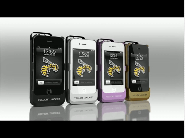 YellowJacket Stun Gun iPhone Case