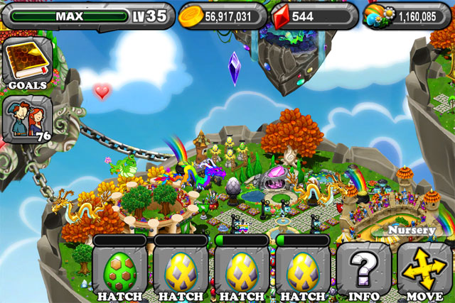 The 1st egg is the DragonVale IRONWOOD Dragon Egg