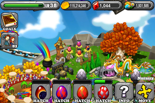 The 1st Egg is the DragonVale Solar Eclipse Dragon Egg