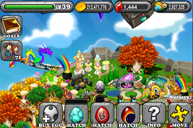 DragonVale Turquoise Dragon Egg