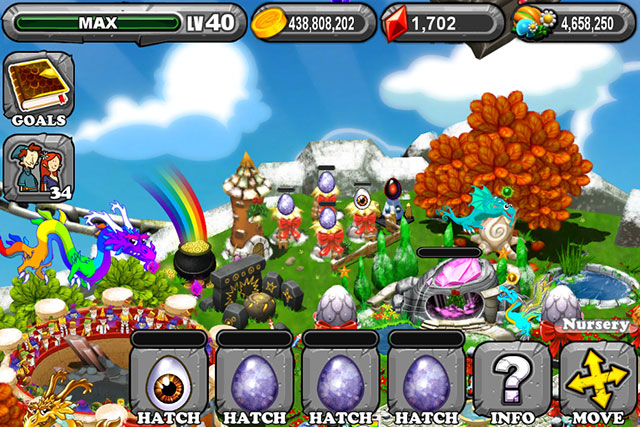 Dragonvale Cyclops Dragon Egg