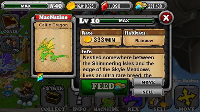 Dragonvale Celtic Dragon