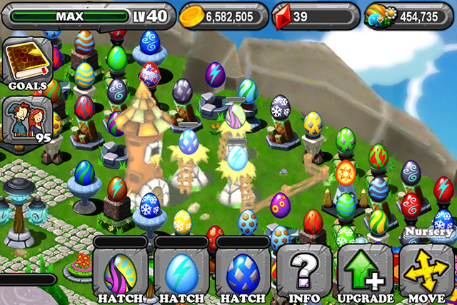 The 1st Egg is the Dragonvale Spring Dragon Egg