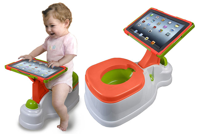 iPotty iPad toilet