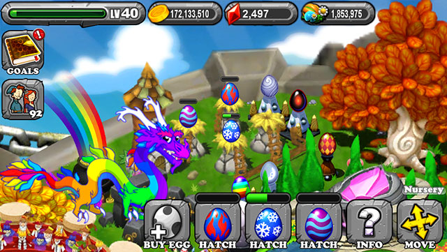The 1st Egg is the Dragonvale Coral Dragon Egg