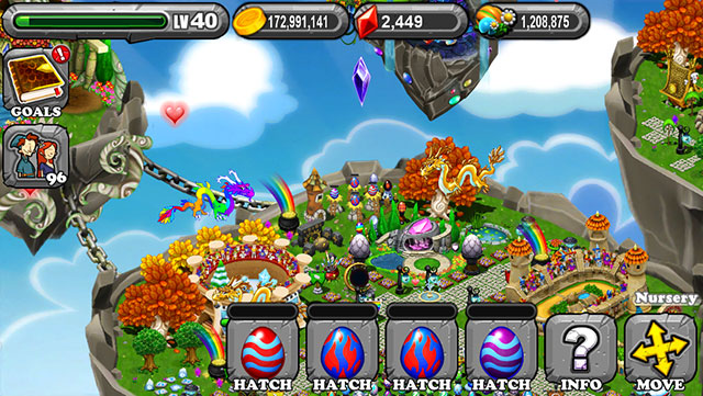 The 1st Egg is the Dragonvale Salamander Dragon Egg