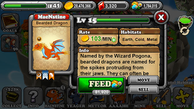 Dragonvale Bearded Dragon