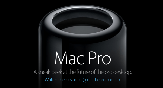 New Mac Pros
