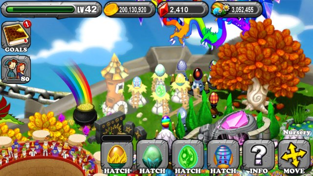 The 1st Egg is the Dragonvale Liberty Dragon Egg