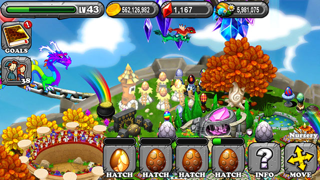 DragonVale Bronze Dragon Egg