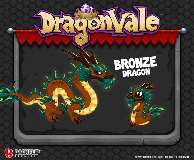 how to get a bronze dragon in dragonvale