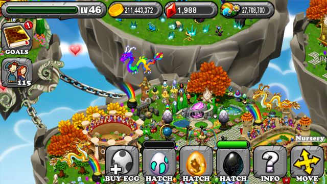 DragonVale Dark Dragon Egg