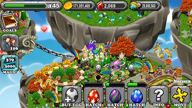 DragonVale Ember Dragon Egg