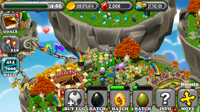 DragonVale Jet Dragon Egg