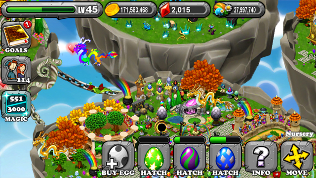 DragonVale Meadow Dragon Egg