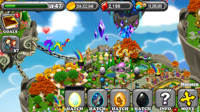 DragonVale Hypnotic Dragon Egg