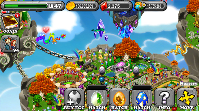 The 1st Egg is the DragonVale Mistletoe Dragon Egg