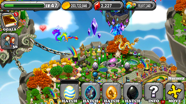The 1st Egg is the DragonVale Shimmer Dragon Egg