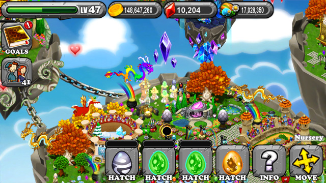 The 1st Egg is the DragonVale Winter Dragon Egg