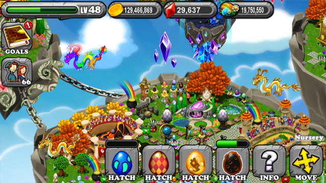 Dragonvale Abyss Dragon Egg