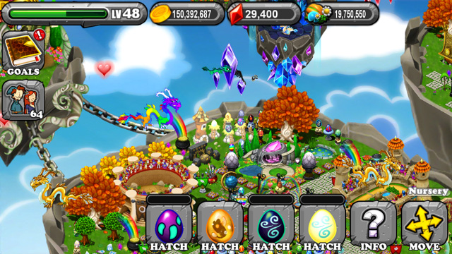 Dragonvale Miasma Dragon Egg