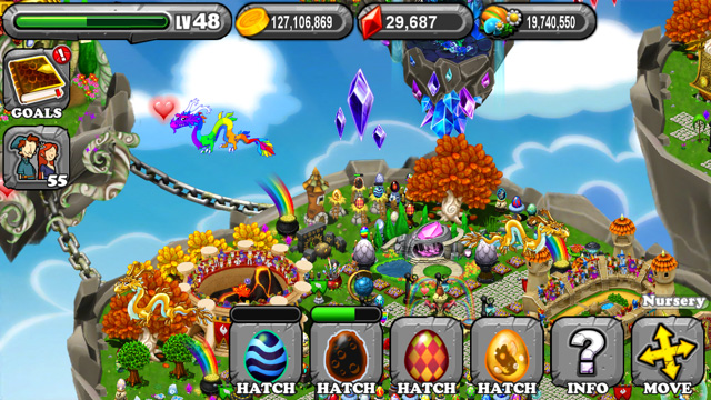 Dragonvale Ooze Dragon Egg