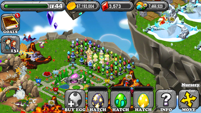Dragonvale Palladium Dragon Egg