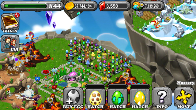 Dragonvale Raidant Dragon Egg