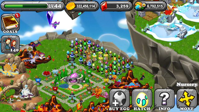 Dragonvale Shadow Dragon Egg