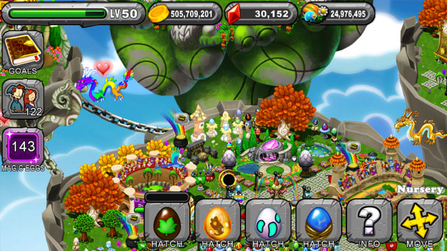 Dragonvale Arbor Dragon Egg