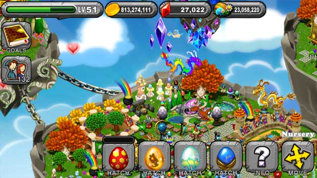 Dragonvale Sulfur Dragon Egg