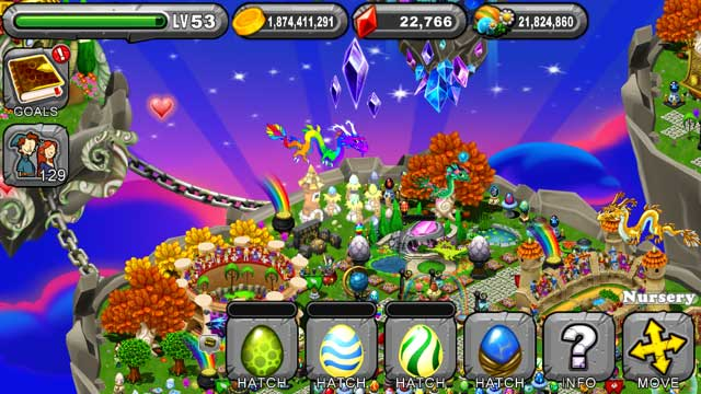 DragonVale Leaf Dragon Egg