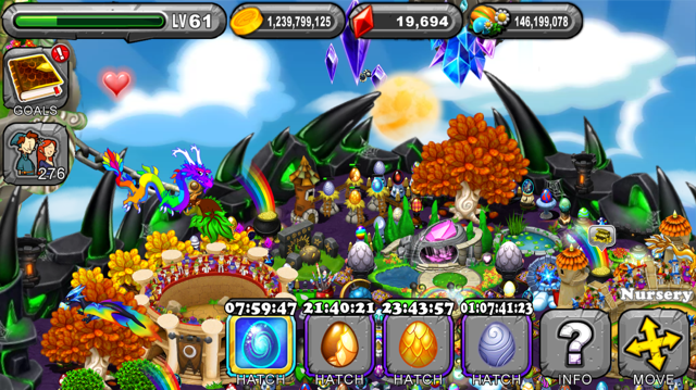 DragonVale Bizurian Dragon Egg