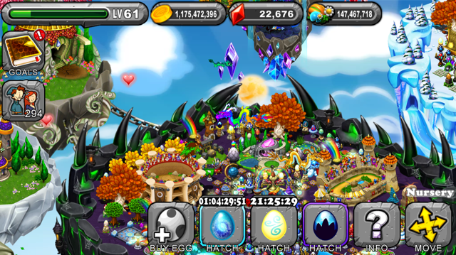 DragonVale Polarian Dragon Egg