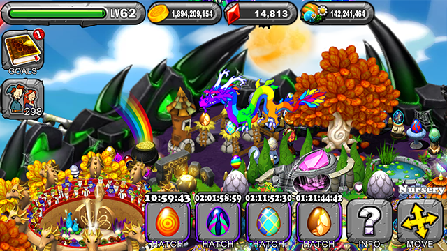 Dragonvale Delirium Dragon Egg