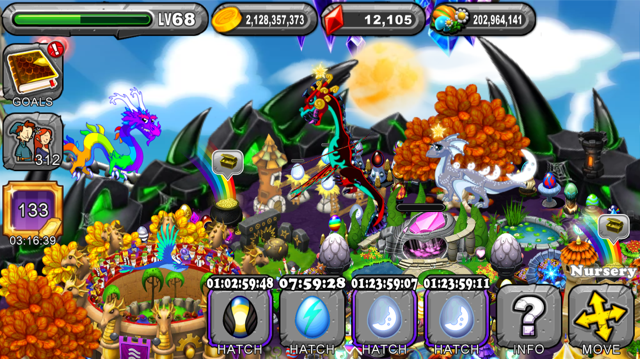 DragonVale Omen Dragon Egg