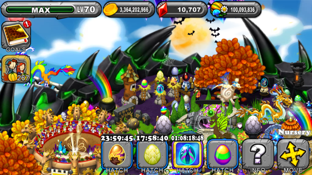 DragonVale Feast Dragon Egg