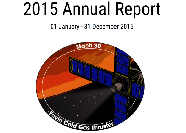 Mach 30 Annual Report for 2016 cover