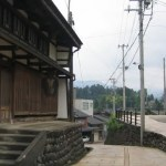 越中の小京都,城端 / Johana,'Little Kyoto of the Ecchu'.