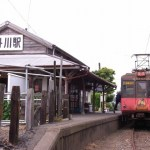 潮風を受けて走る銚子電気鉄道 / Choshi Electric Railway Line relishes the sea wind