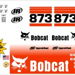 Bobcat 873 G replacement decal kit