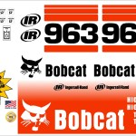 Bobcat 963 G replacement decal kit