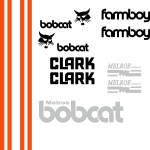 Bobcat FARMBOY replacement decal kit
