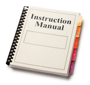iStock_000009386795Small - Photo of Instruction manual