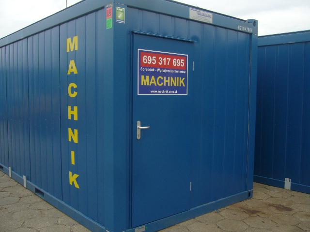 Machnik Sp. z o.o. kontener biurowy