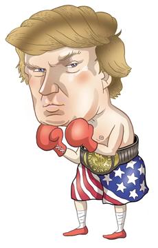 Donald Trump   by Graeme MacKay